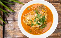 slow cooker fish head curry
