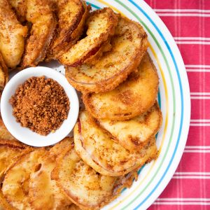 How do You Make Apples Unhealthy? Make Delicious Apple Fritters!