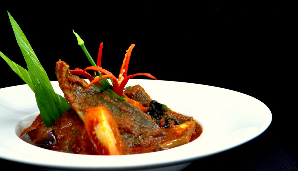 Stingray with Assam Sauce, a Malaysian Favourite