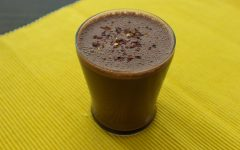chocolate tofu smoothie