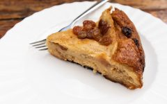 slow cooker bread butter pudding